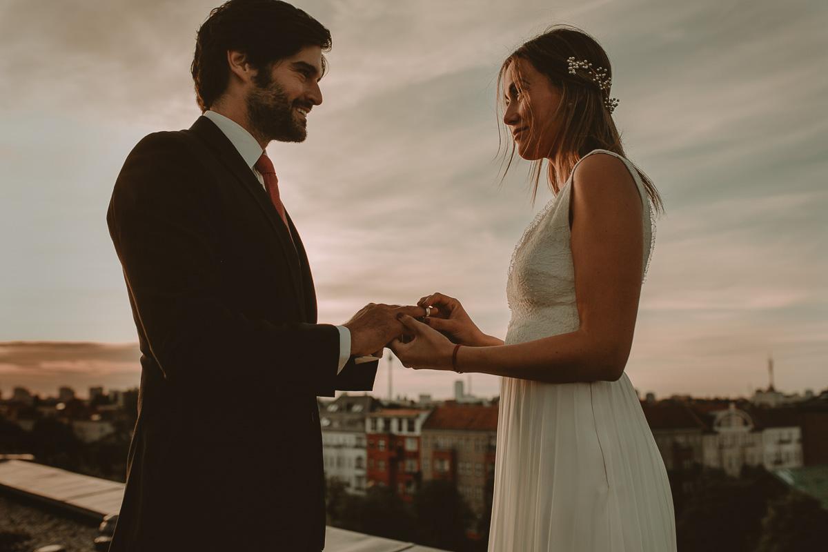 Rooftop Wedding in Berlin