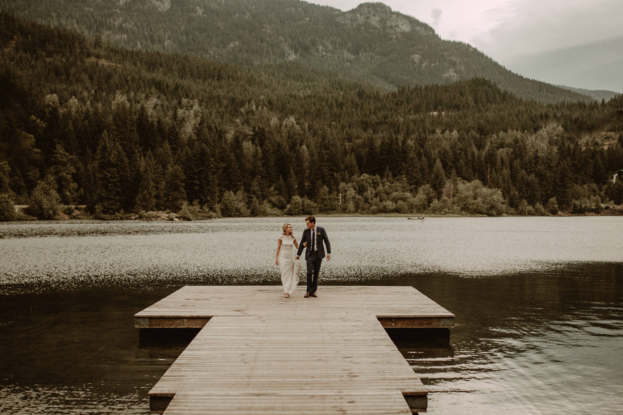 Mountain Wedding in Whistler, Canada by bringmesomewherenice