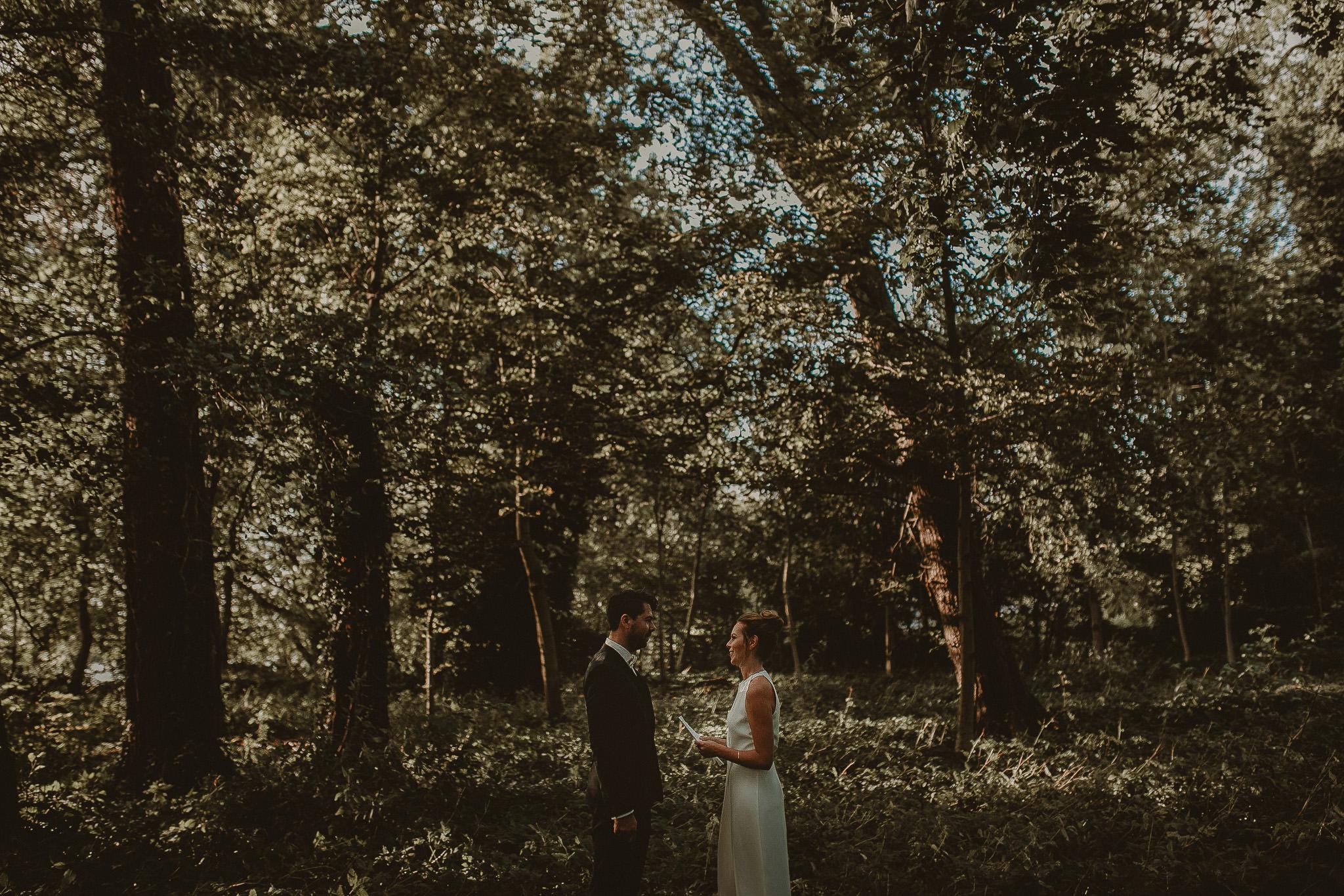 Forest Wedding in Berlin, Brandenburg