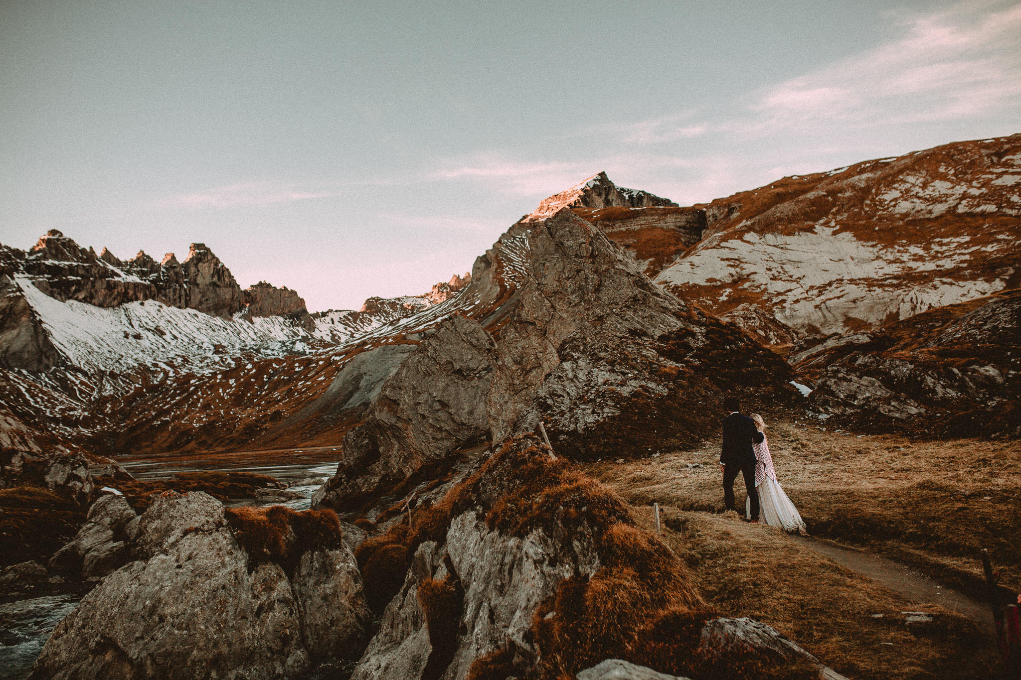 Wedding Photographer in Switzerland, bring me somewhere nice
