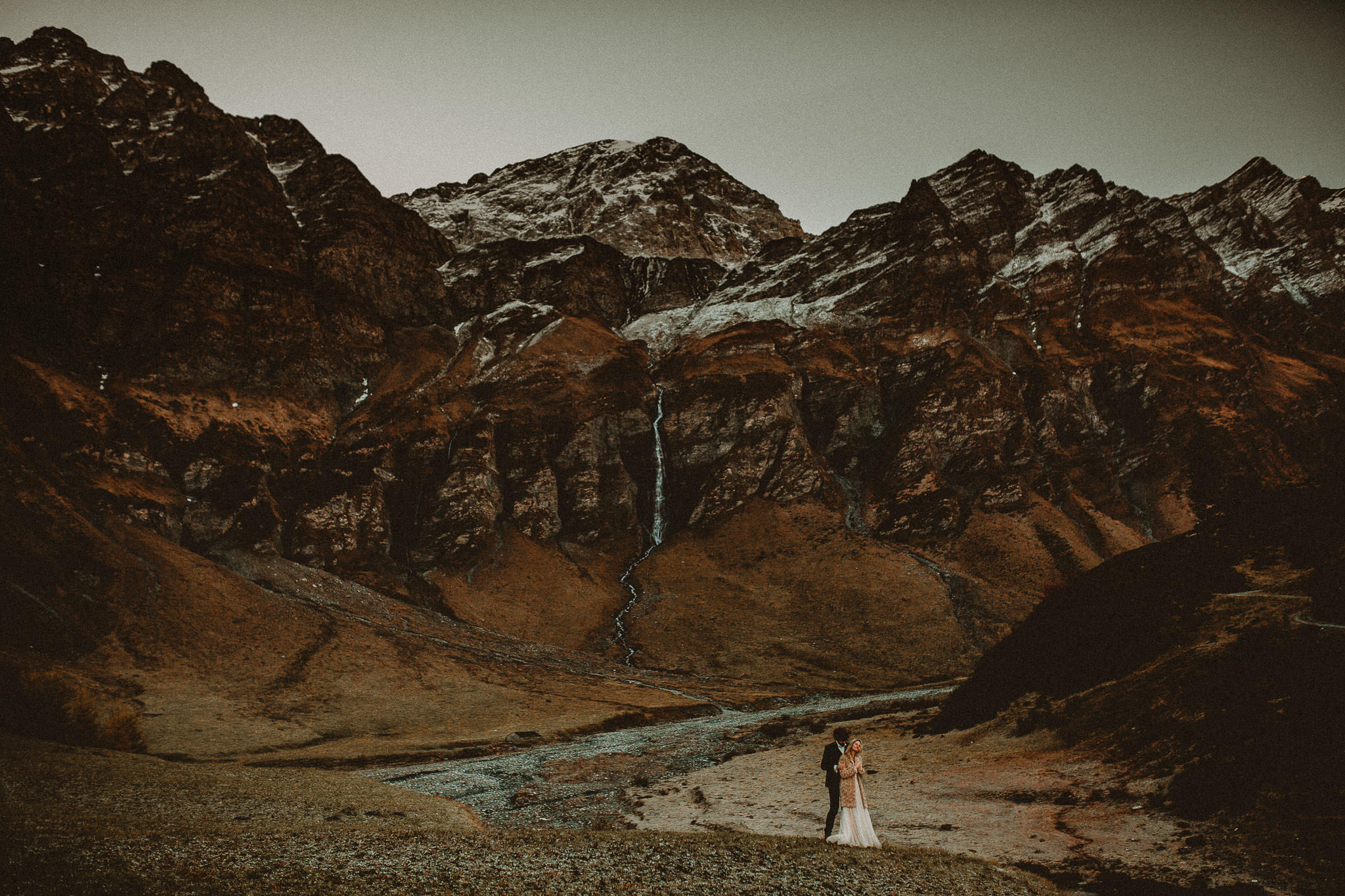 mountain wedding in Switzerland, Grisons
