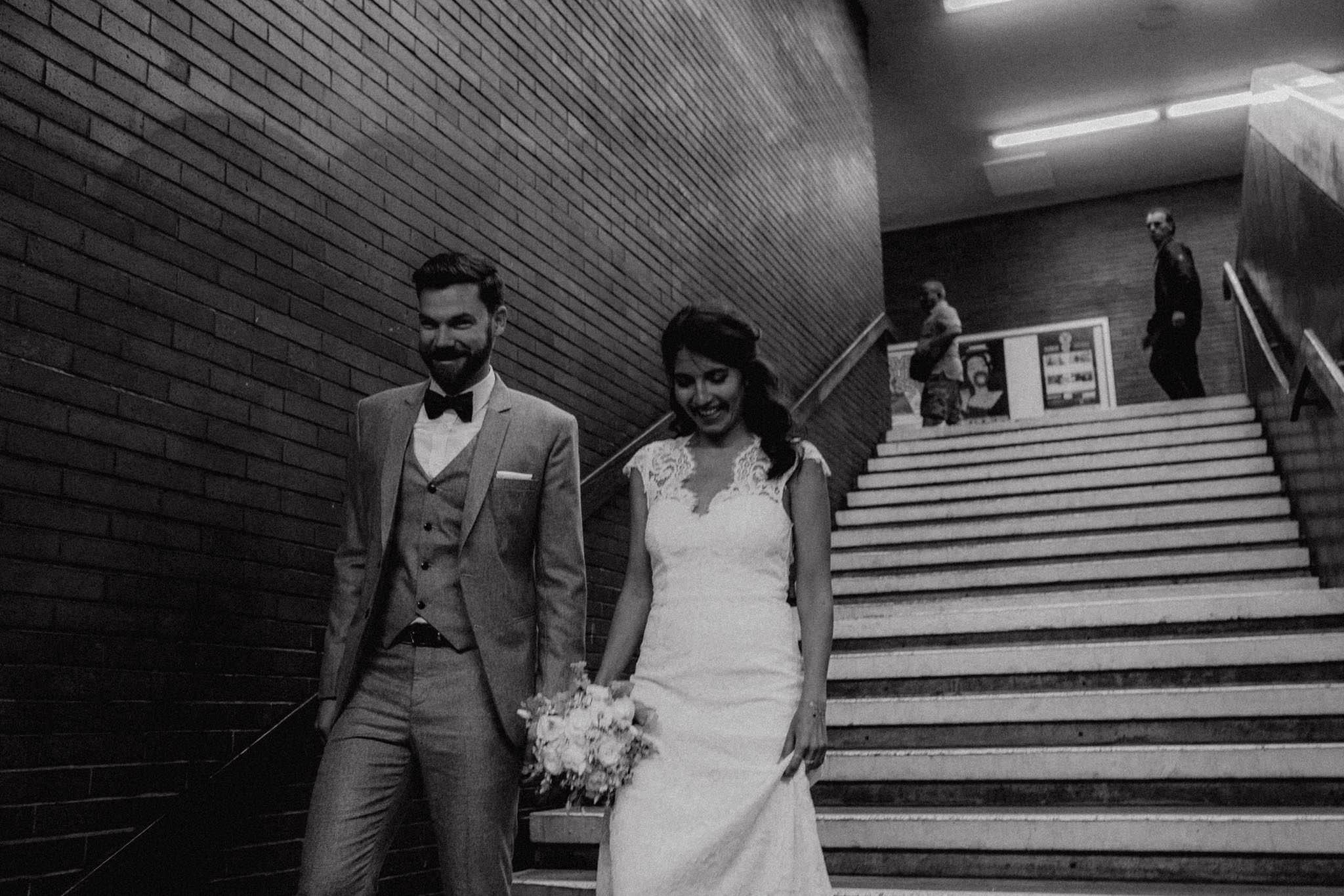 Urbane Hochzeit in Berlin