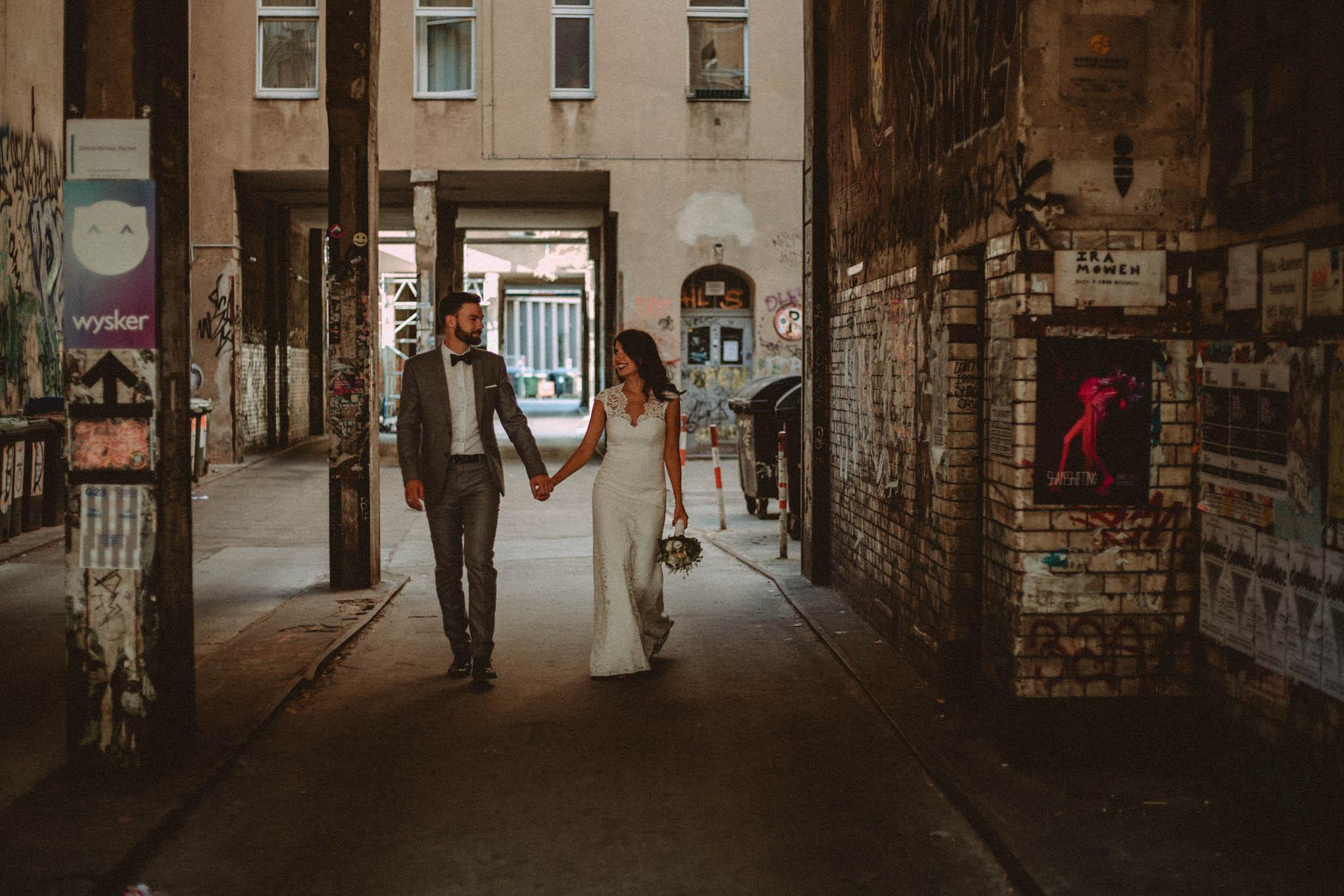 Urban Wedding in Berlin